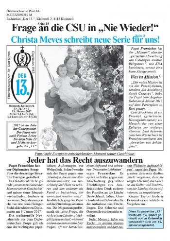 Ausgabe Jänner 2017