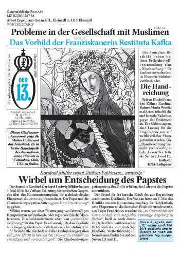 Ausgabe Mai 2018